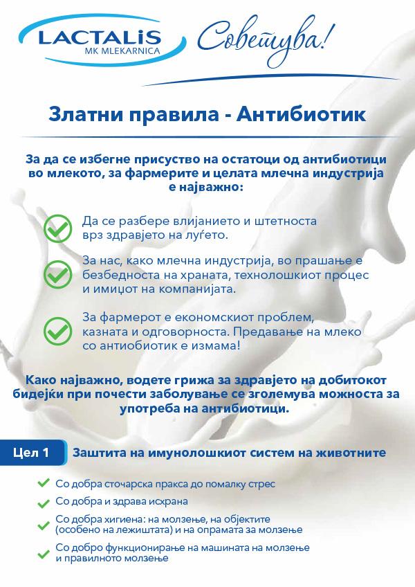 Златни правила - Антибиотик